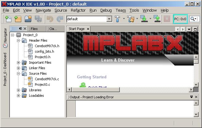 Learn Digilentinc | Project 0: MPLAB® X Integrated